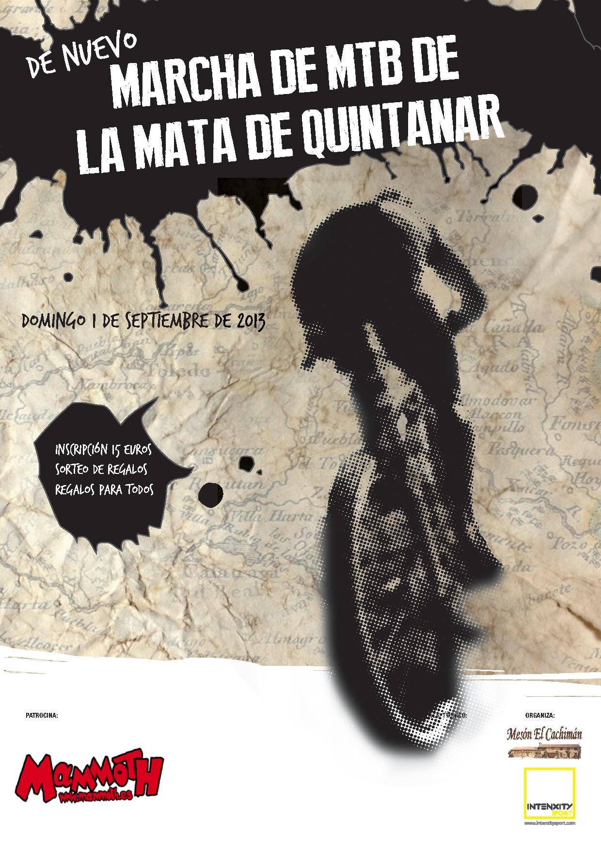 Marcha MTB Mata de Quintanar